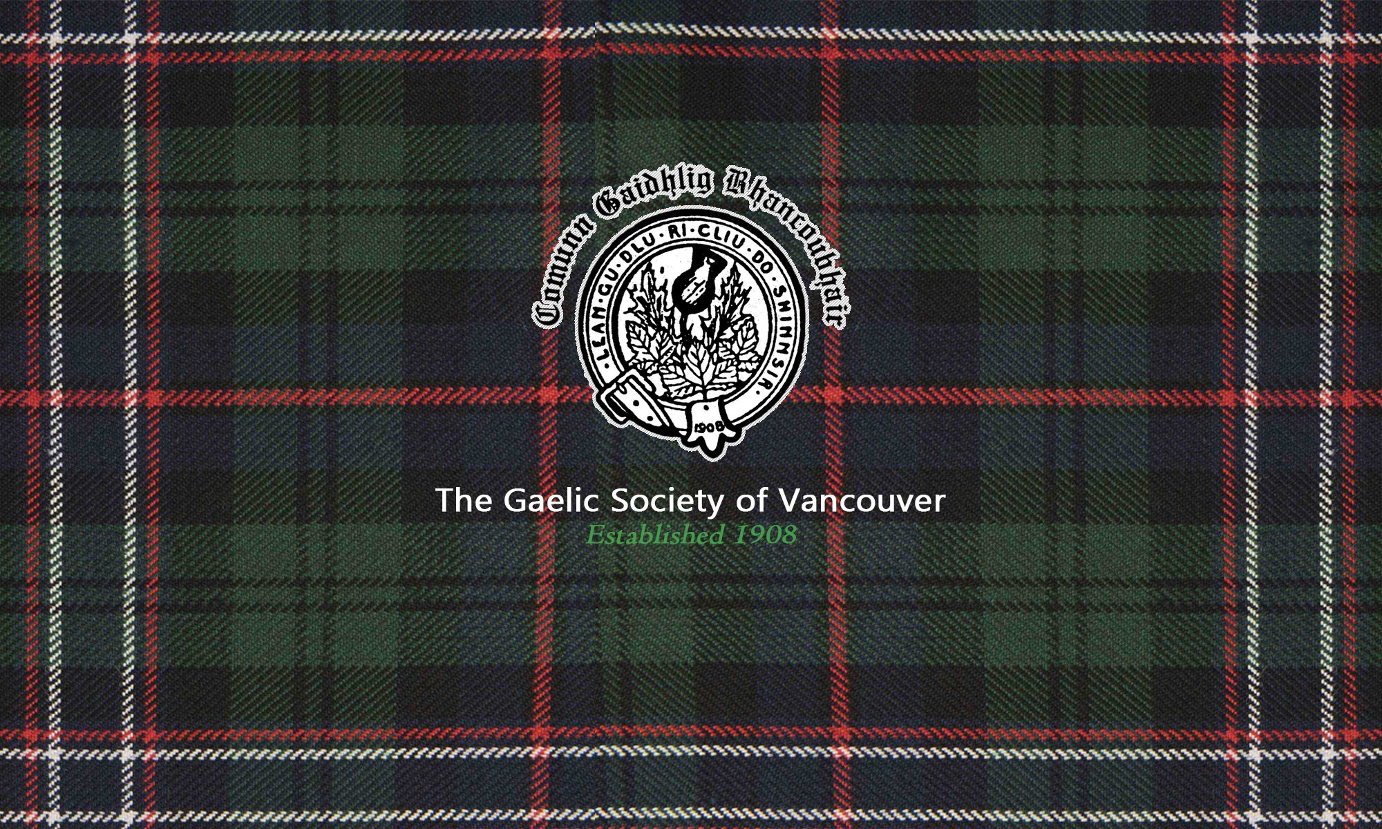 The Gaelic Society of Vancouver